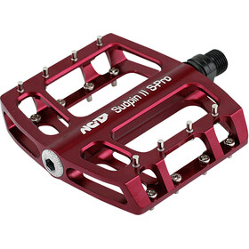 NC-17 Sudpin II S-Pro CNC Pedals rot